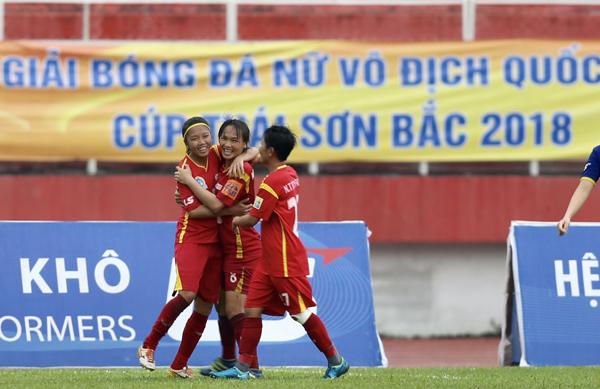 Lượt về giải bóng đá nữ VĐQG - Cúp Thái Sơn Bắc 2018 (1/10): ĐKVĐ TP Hồ Chí Minh I đại thắng
