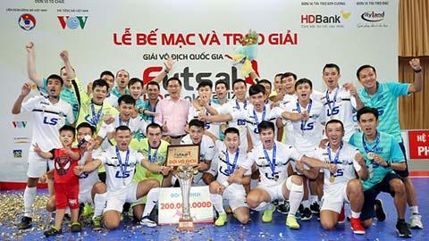 Vòng 18 Giải Futsal VĐQG HDBank 2018: Thái Sơn Nam bảo vệ thành công ngôi vô địch