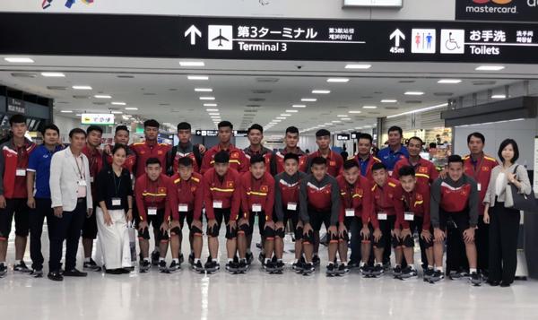 ĐT U17 Việt Nam sang Nhật Bản tham dự Jenesys 2018