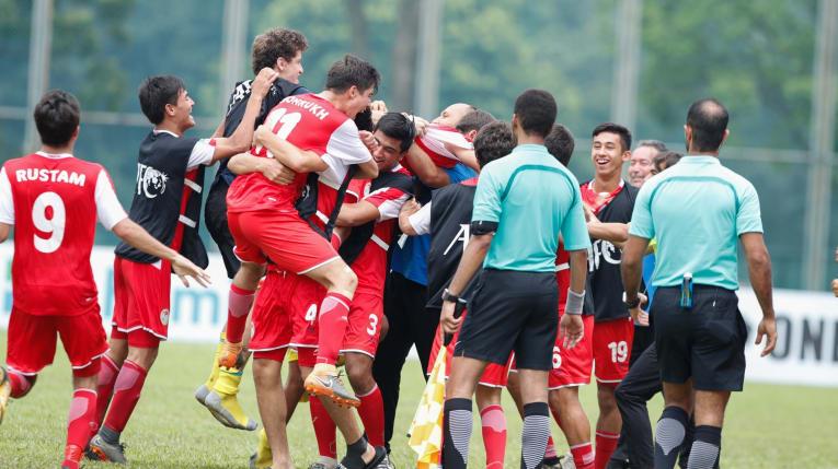 U16 Tajikistan lập kỳ tích giành vé vào chung kết U16 châu Á 2018