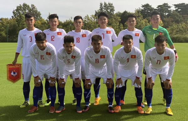 Phung phí cơ hội, U17 Việt Nam thua đáng tiếc trận ra quân tại Jenesys 2018