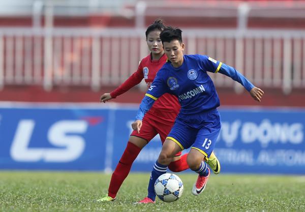 Xác định 2 cặp đấu bán kết giải bóng đá nữ VĐQG - Cúp Thái Sơn Bắc 2018