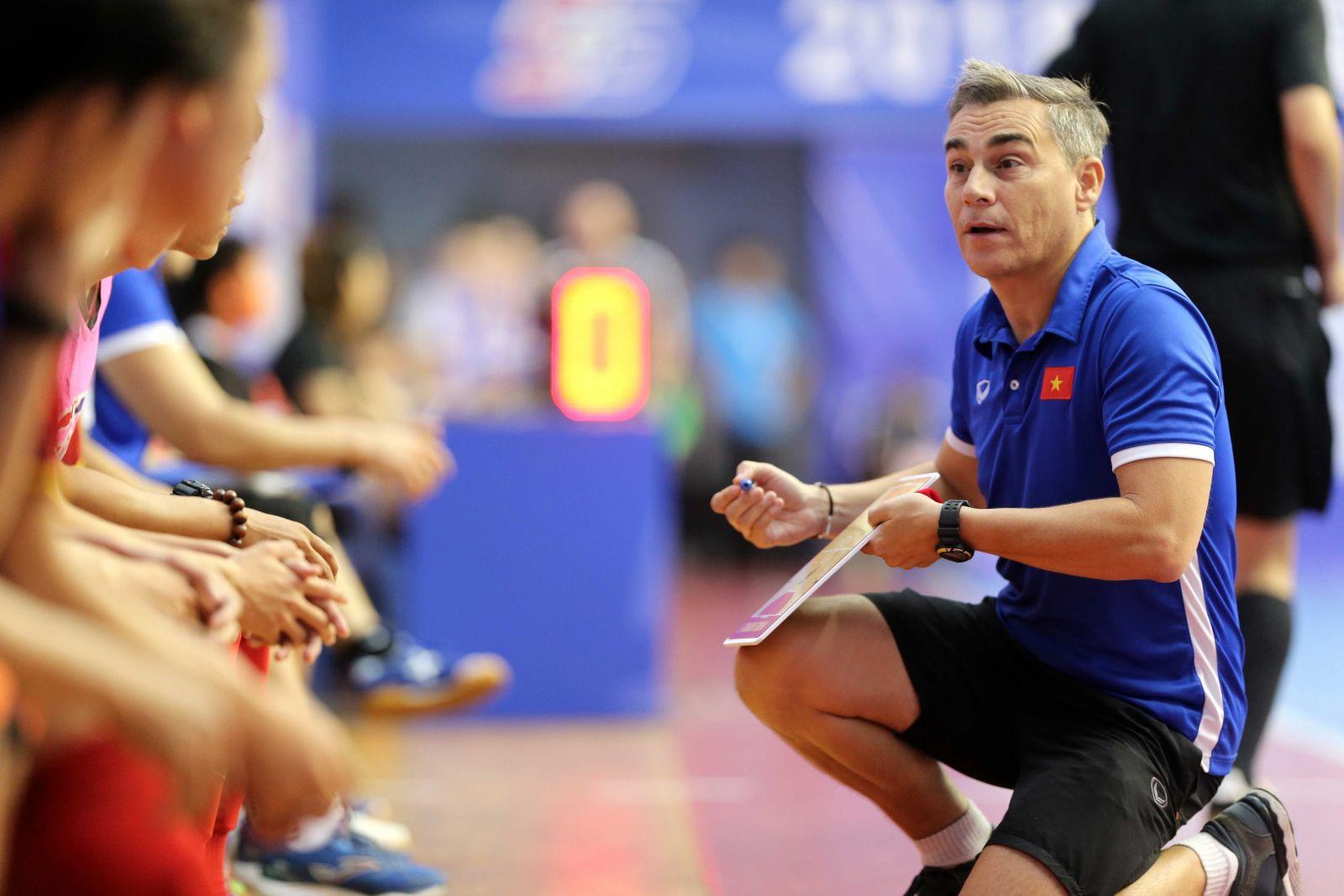 ĐT Futsal Việt Nam tích cực tập luyện hướng tới đấu trường Đông Nam Á 2018
