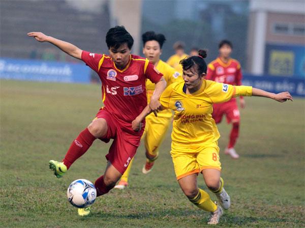 Giải BĐ Nữ VĐQG - Cúp Thái Sơn Bắc 2018: Phong Phú Hà Nam tranh ngôi vô địch với TP Hồ Chí Minh I