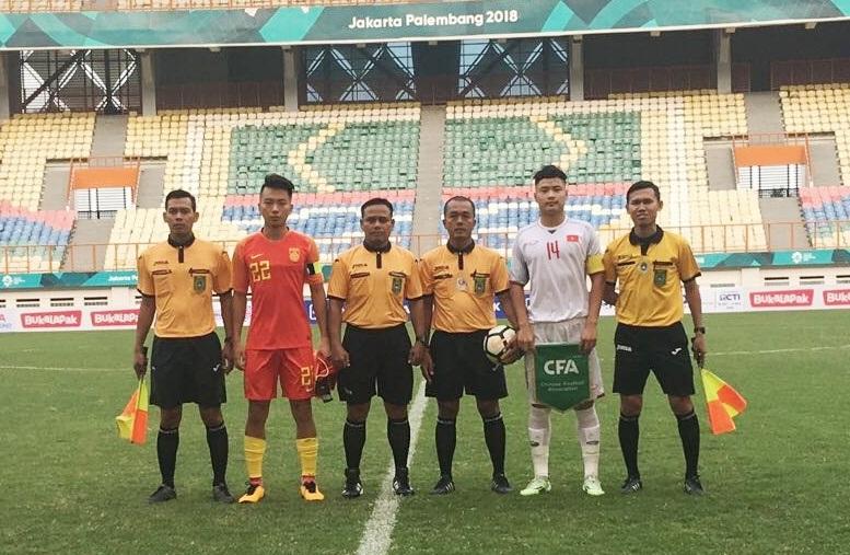 Giao hữu tại Indonesia, U19 Việt Nam vs. U19 Trung Quốc: 1-0