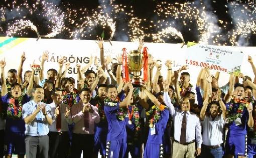 B.Bình Dương vô địch Cúp QG Sư Tử Trắng 2018
