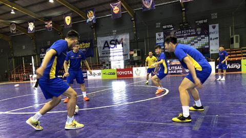 ĐT Futsal Việt Nam tập huấn tại Thái Lan: