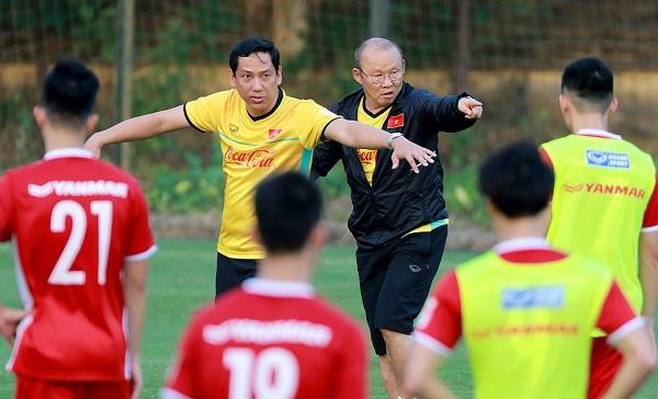ĐT Việt Nam tập hồi phục và sửa lỗi bộc lộ trong trận đấu tập với Incheon United
