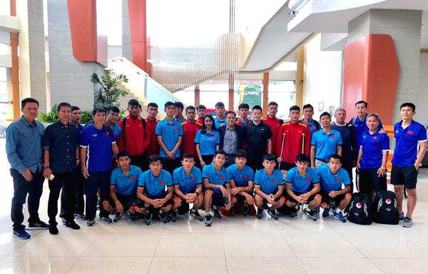 ĐT U19 Việt Nam về nước, hướng tới những mục tiêu mới