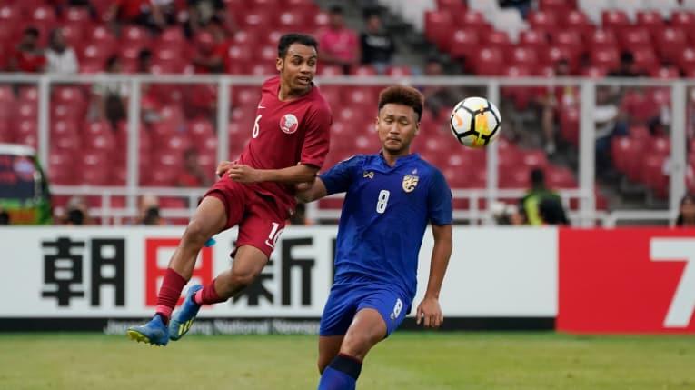 Thua ngược U19 Qatar 3-7 ở hiệp phụ, U19 Thái Lan lỡ hẹn U20 World Cup