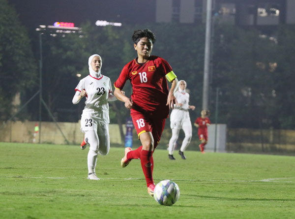 Xác định đối thủ của U19 nữ Việt Nam tại vòng loại 2 U19 nữ châu Á 2019