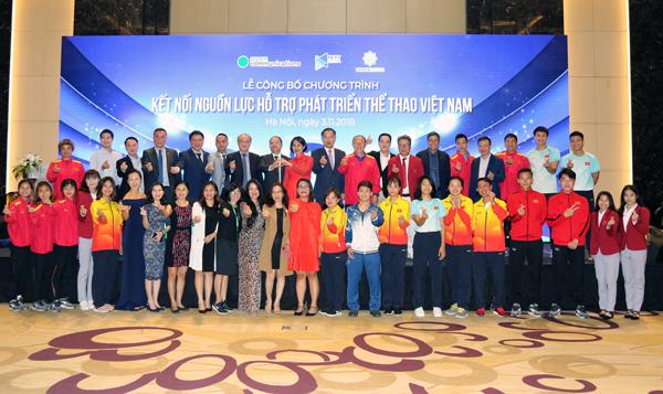 Khởi động chương trình kết nối nguồn lực hỗ trợ phát triển thể thao Việt Nam
