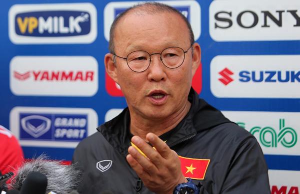 """HLV Park Hang-seo: """"Mỗi trận đấu của ĐT Việt Nam tại AFF Suzuki Cup 2018 đều là trận chung kết"""""""
