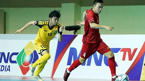 ĐT Việt Nam thắng đậm trong trận ra quân tại Giải Futsal Đông Nam Á 2018
