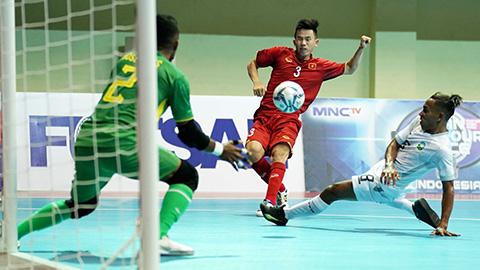 ĐT Việt Nam giành vé vào bán kết Giải vô địch Futsal Đông Nam Á 2018