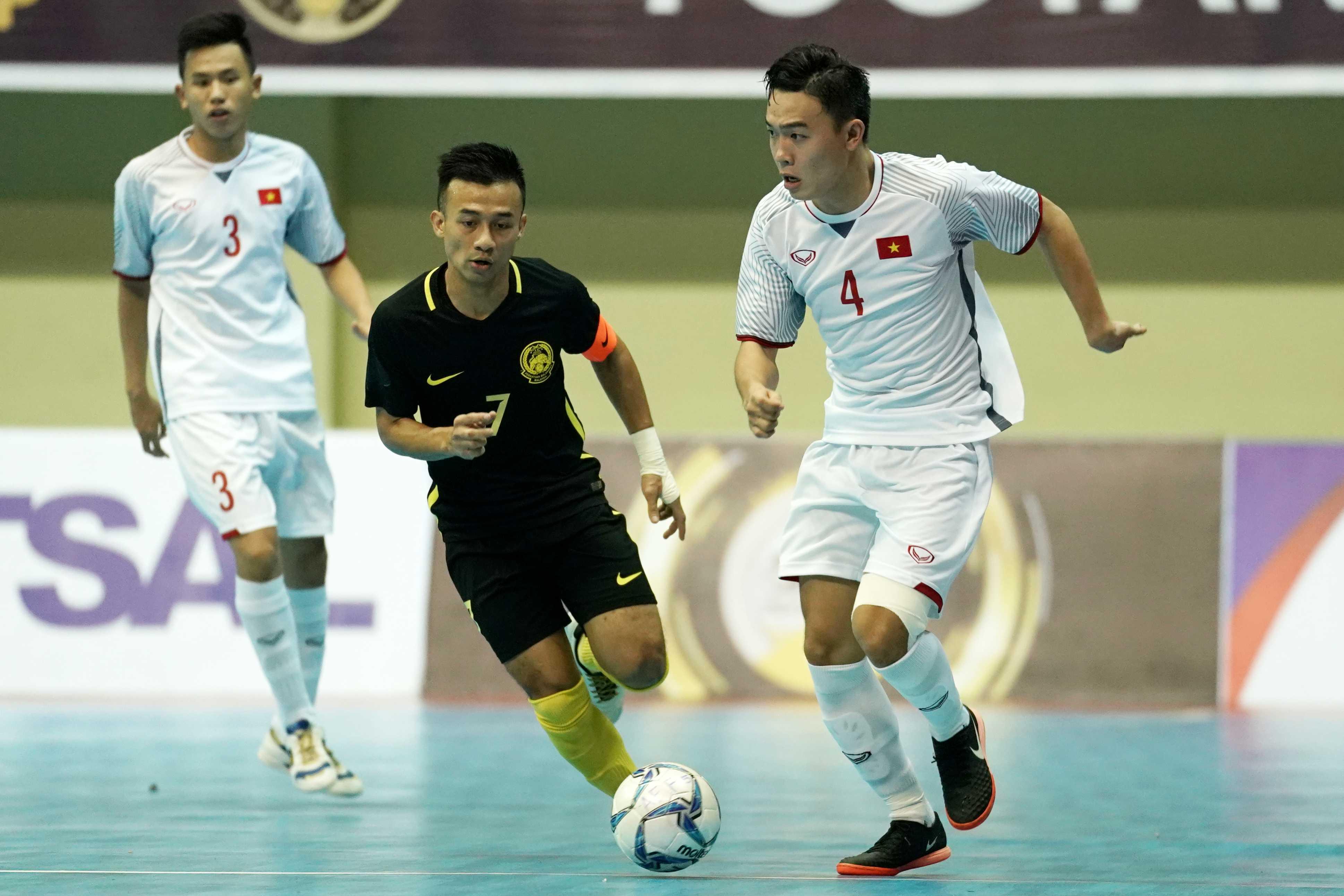 Thua Malaysia trên chấm phạt đền, ĐT futsal Việt Nam lỗi hẹn với trận chung kết