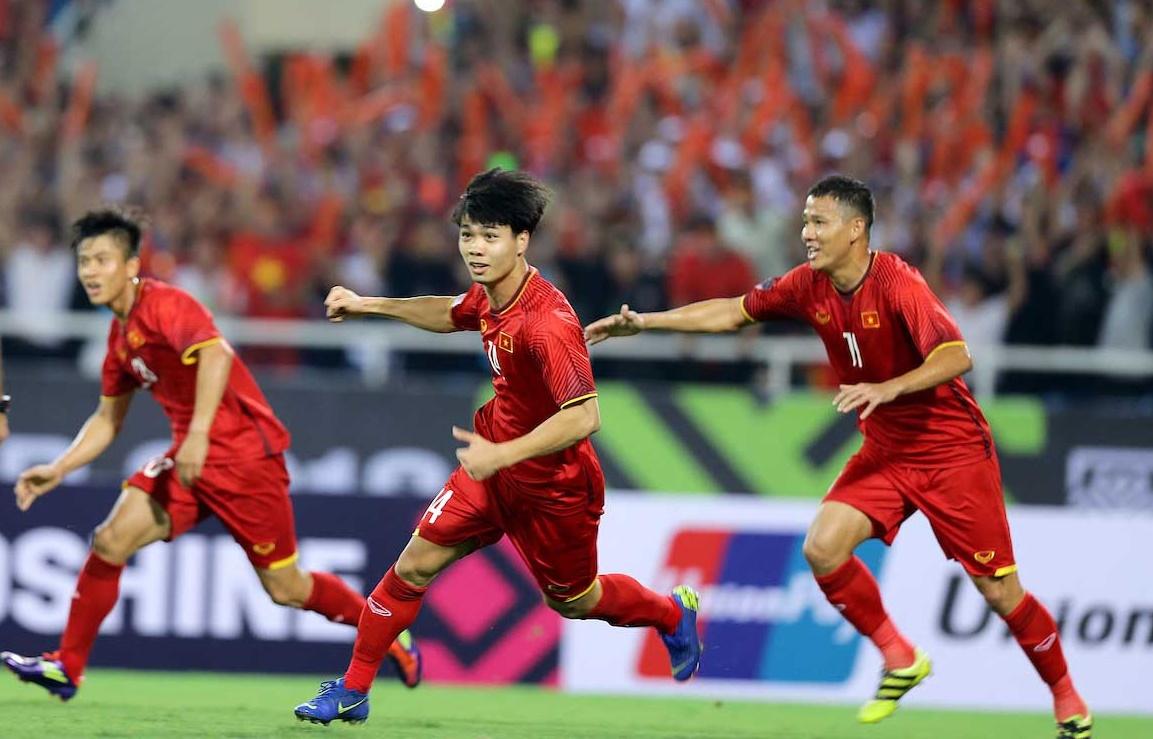 Chơi hay, thắng đẹp, ĐT Việt Nam được thưởng 1,1 tỷ đồng