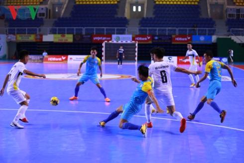Giải Futsal HDBank Cúp Quốc gia 2018: Sanna Khánh Hòa khởi đầu thuận lợi