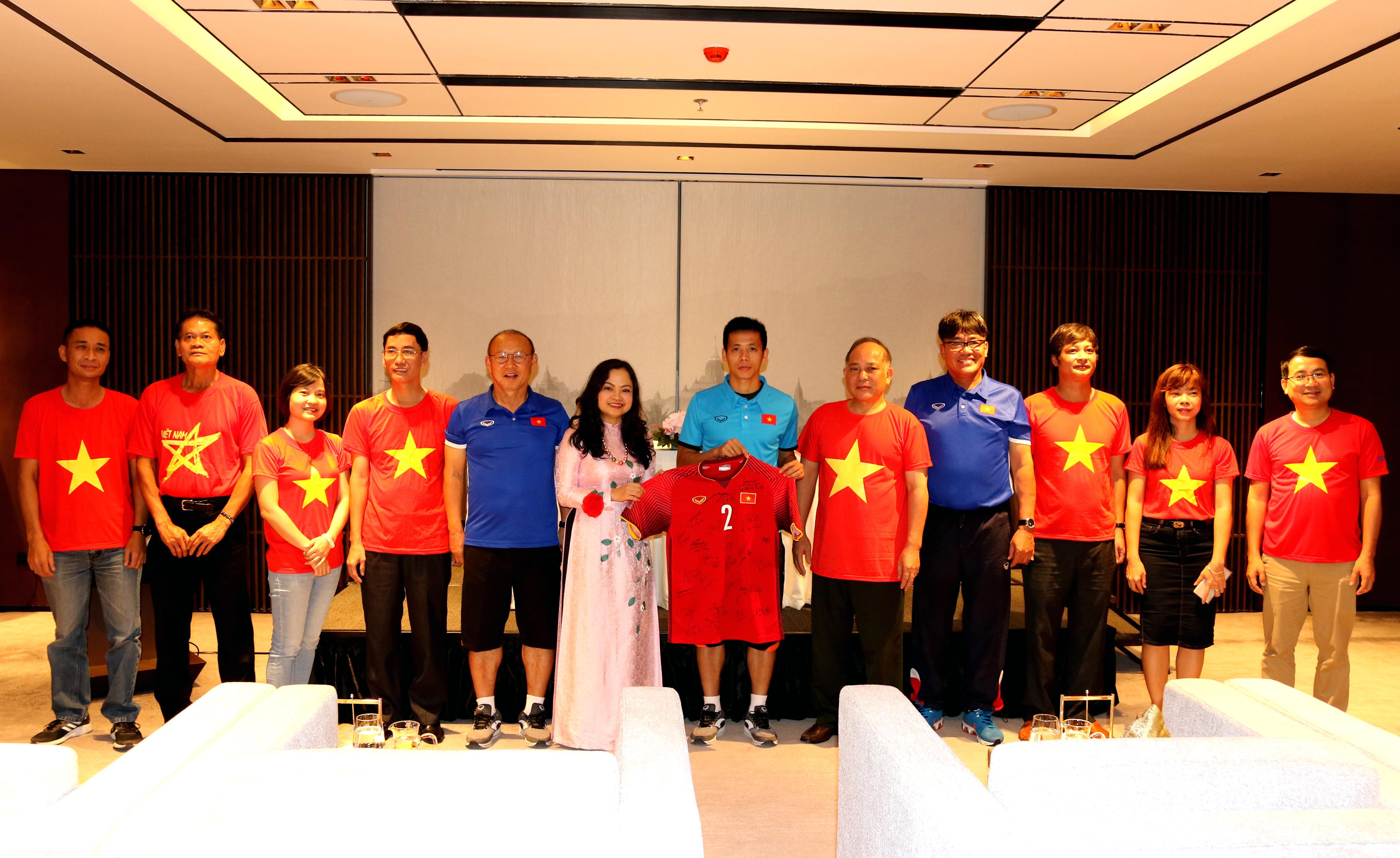 Đại sứ Việt Nam tại Myanmar đặt niềm tin chiến thắng vào thầy trò HLV Park Hang-seo
