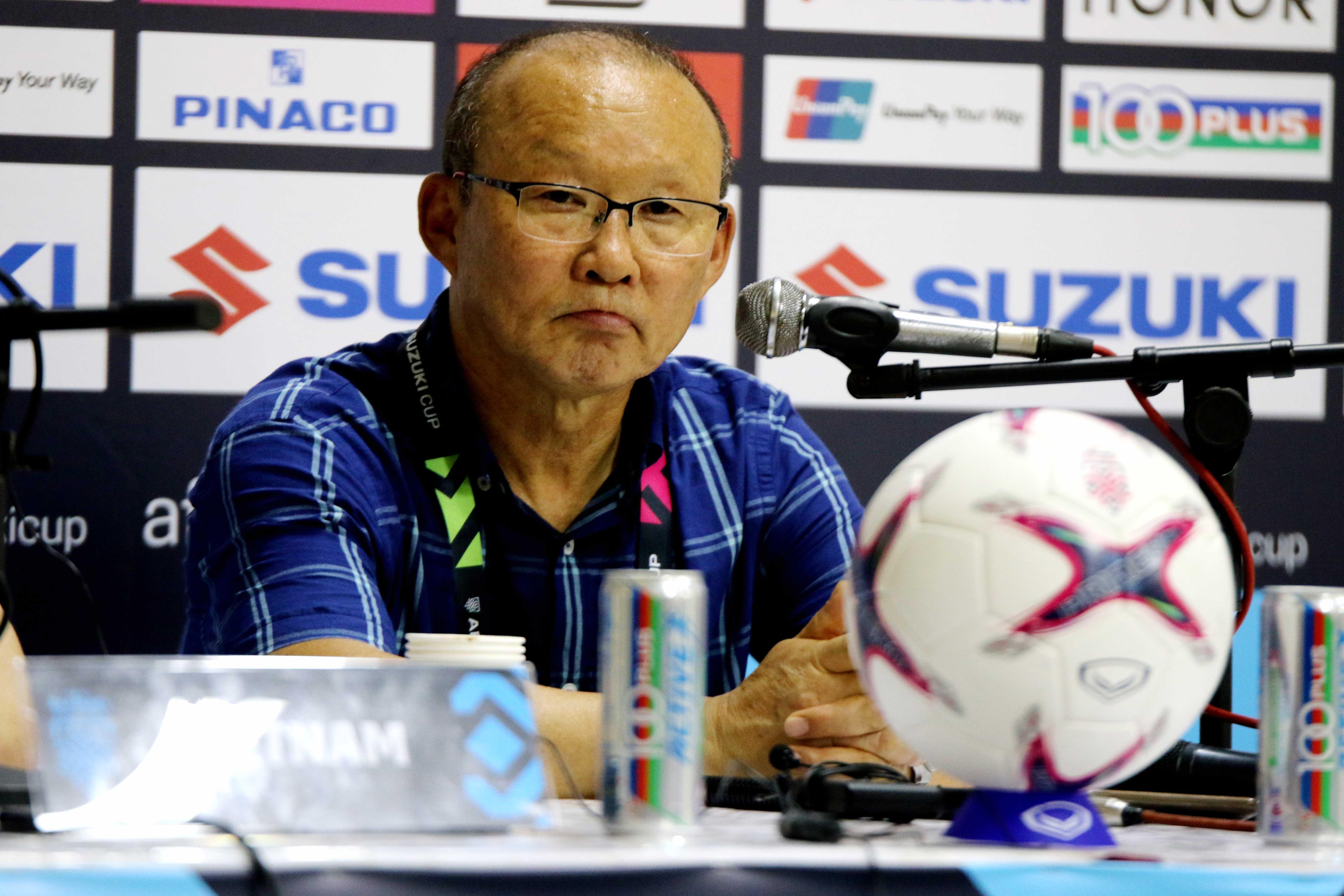 HLV Park Hang-seo không hài lòng khi ĐT Việt Nam để Myanmar cầm hoà 0-0