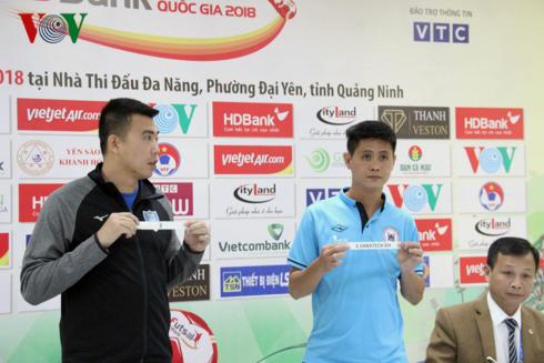 Bốc thăm chia cặp đấu Giai đoạn 2 giải Futsal HDBank Cúp Quốc gia 2018
