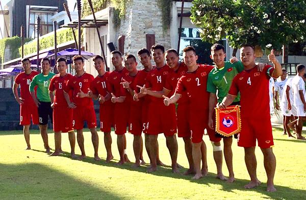 ĐT Việt Nam tái ngộ Thái Lan tại trận chung kết Giải bóng đá bãi biển Đông Nam Á 2018