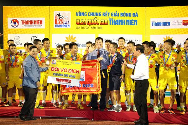 Bước tiến thần kỳ trong 6 năm của U21 Hà Nội