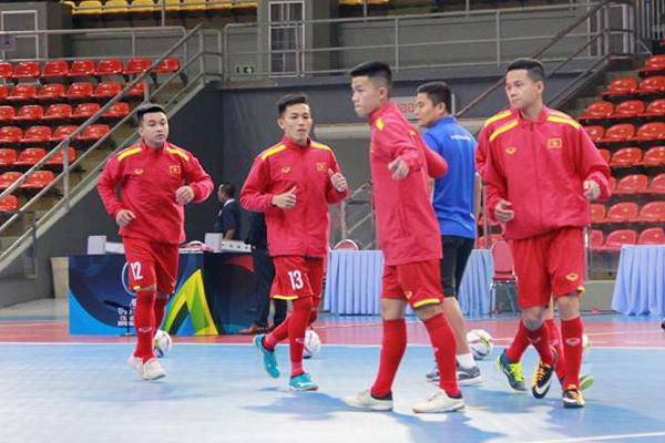 ĐT U20 futsal Việt Nam hòa kịch tính Indonesia trong trận ra quân tại VL U20 châu Á 2019