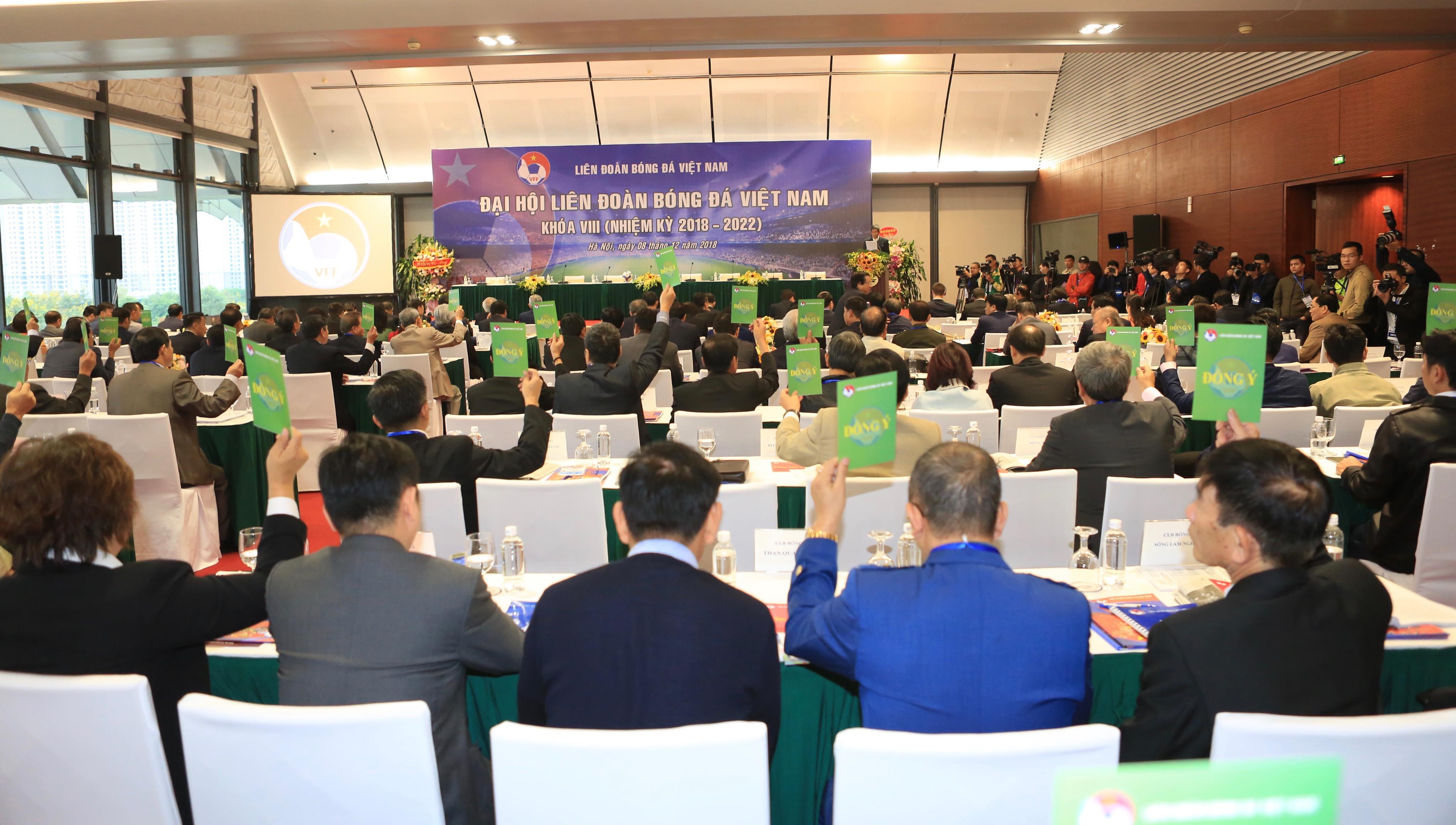 Đại hội Liên đoàn Bóng đá Việt Nam khóa VIII (nhiệm kì 2018 - 2022)