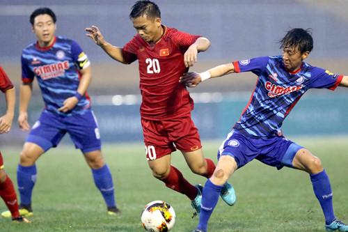 U21 Tuyển chọn Việt Nam gặp U21 Myanmar trong trận chung kết Giải U21 Quốc tế Báo Thanh Niên 2018
