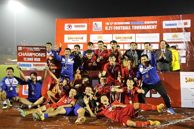 U21 Tuyển chọn Việt Nam vô địch Giải U21 Quốc tế Báo Thanh Niên 2018