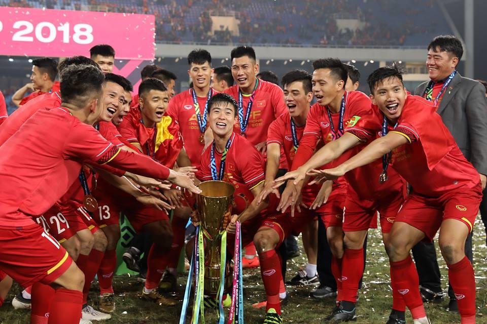 ĐT Việt Nam kết thúc năm 2018 ở vị trí số 1 Đông Nam Á và 100 thế giới trên BXH FIFA