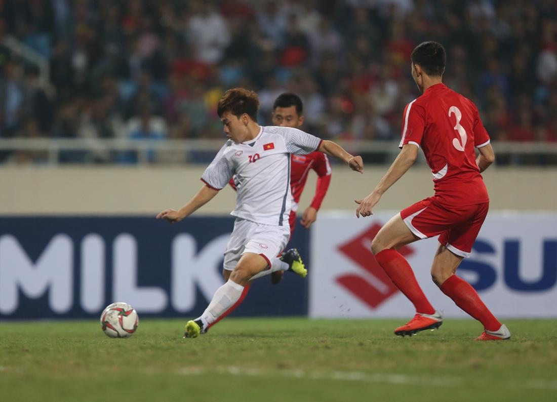 Giao hữu quốc tế, ĐT Việt Nam vs. ĐT CHDCND Triều Tiên 1-1