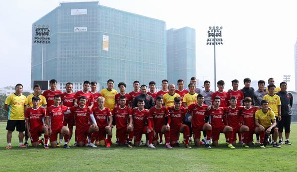 ĐT Việt Nam chốt danh sách 24 cầu thủ cho chuyến tập huấn trước thềm VCK Asian Cup 2019