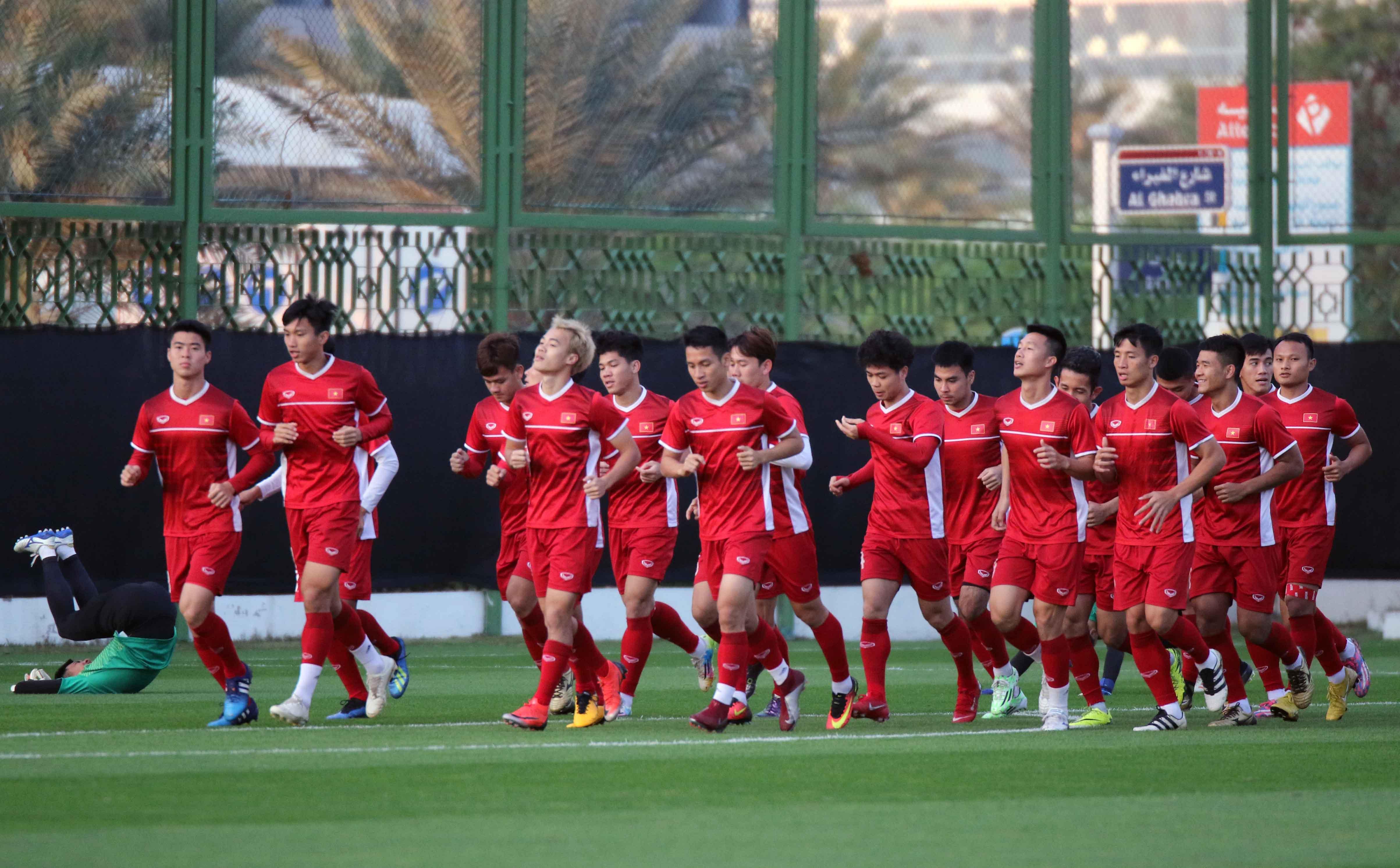 Văn Toàn háo hức chờ đợi trận ra quân gặp Iraq tại VCK Asian Cup 2019