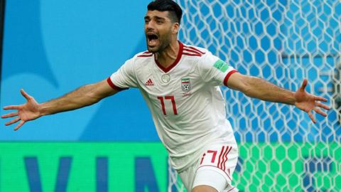 Iran 5-0 Yemen: Khẳng định sức mạnh ƯCV vô địch