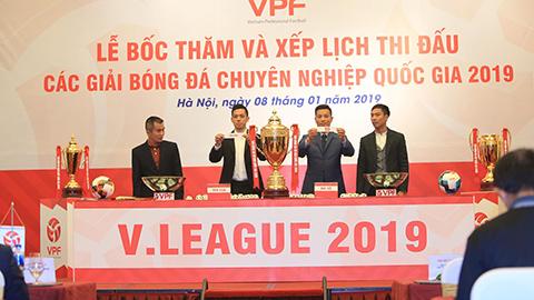 Lịch thi đấu V.League 2019: Nhiều đại chiến ở ngày khai màn