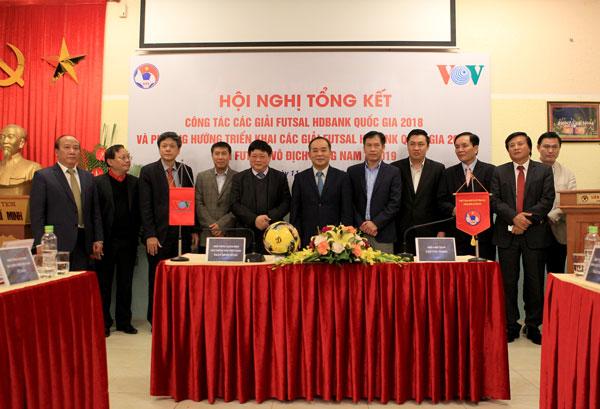 VFF và VOV họp tổng kết các giải Futsal Quốc gia năm 2018