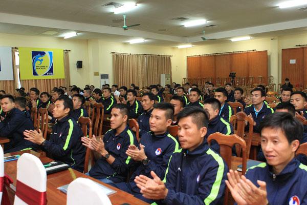 Bế mạc tập huấn giám sát, trọng tài các giải bóng đá ngoài chuyên nghiệp 2019