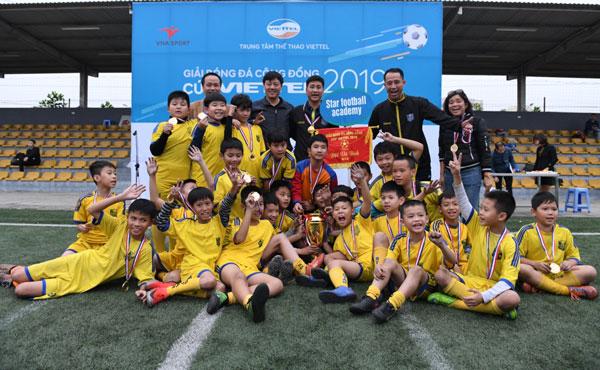 Giải Bóng đá Cộng đồng Cup Viettel 2019
