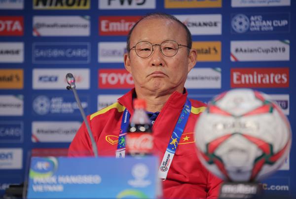 """HLV Park Hang-seo: """"Trận đấu gặp Nhật Bản rất khó khăn, nhưng cũng là cơ hội lớn"""""""
