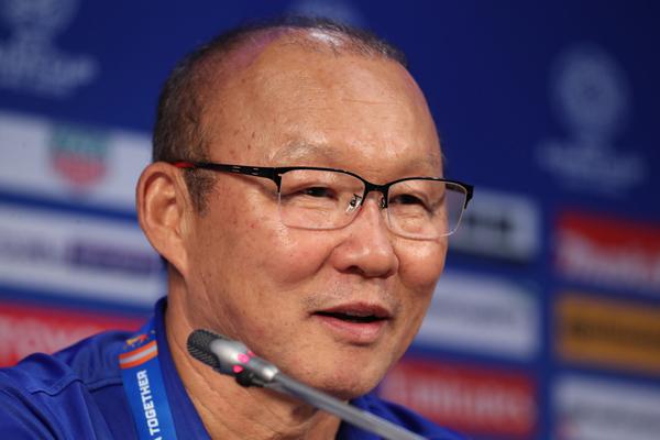 """HLV Park Hang-seo: """"Tôi thực sự hài lòng và tự hào về các cầu thủ ĐT Việt Nam"""""""