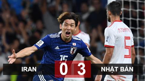 Iran 0-3 Nhật: Samurai giành vé vào chung kết