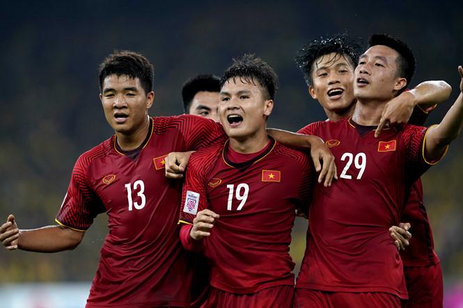 ĐT Việt Nam tăng 1 bậc trên BXH tháng đầu tiên năm 2019 của FIFA
