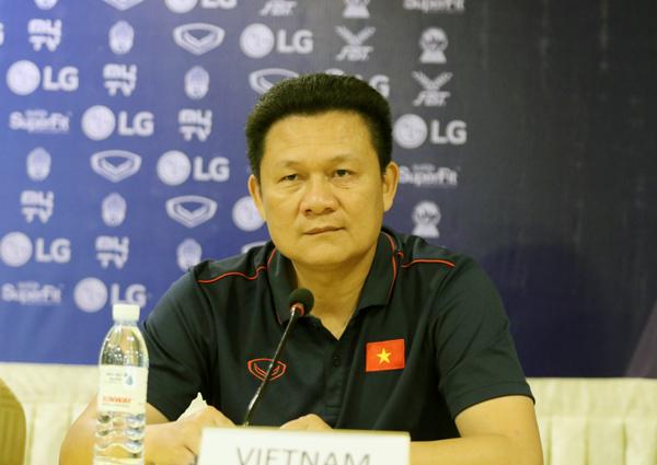 """HLV Nguyễn Quốc Tuấn: """"U22 Việt Nam sẽ tập trung cao độ để giành chiến thắng"""""""