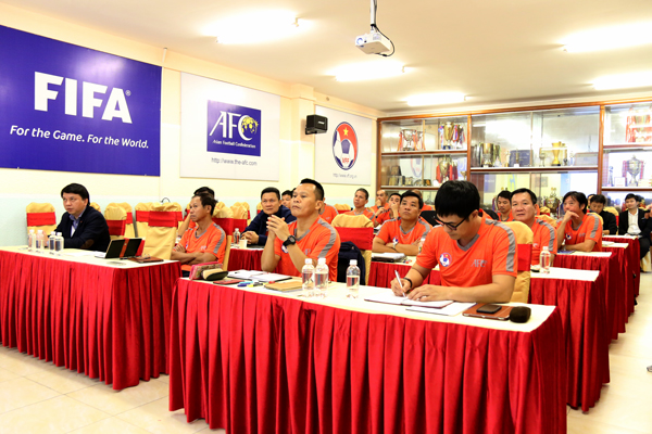 [Dự kiến] Các khóa học huấn luyện viên AFC năm 2019