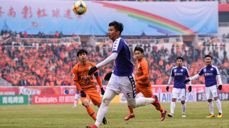 Thua Shangdong Luneng trong trận play-off, CLB Hà Nội trở về đá AFC Cup 2019