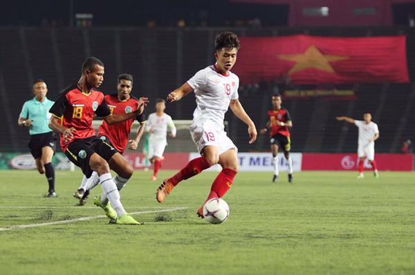Thắng Timor Leste 4-0, U22 Việt Nam sớm giành vé vào bán kết