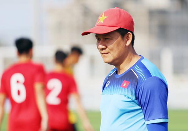 ĐT U22 Việt Nam hướng tới mục tiêu giành ngôi nhất bảng A