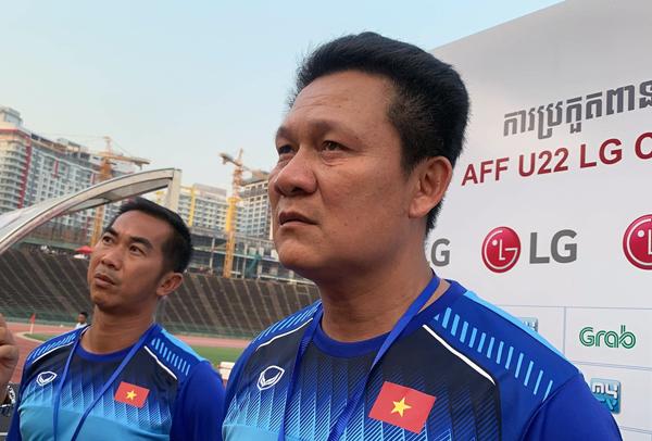 HLV Nguyễn Quốc Tuấn đánh giá về kết quả thi đấu của U22 Việt Nam tại AFF U22 LG Cup 2019